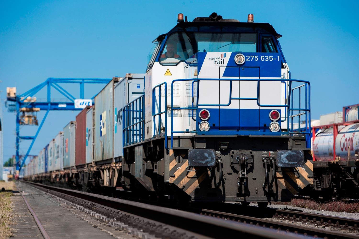 Intermodal Operator Duisport connects chain partners with Intermodal Transport Management Platform