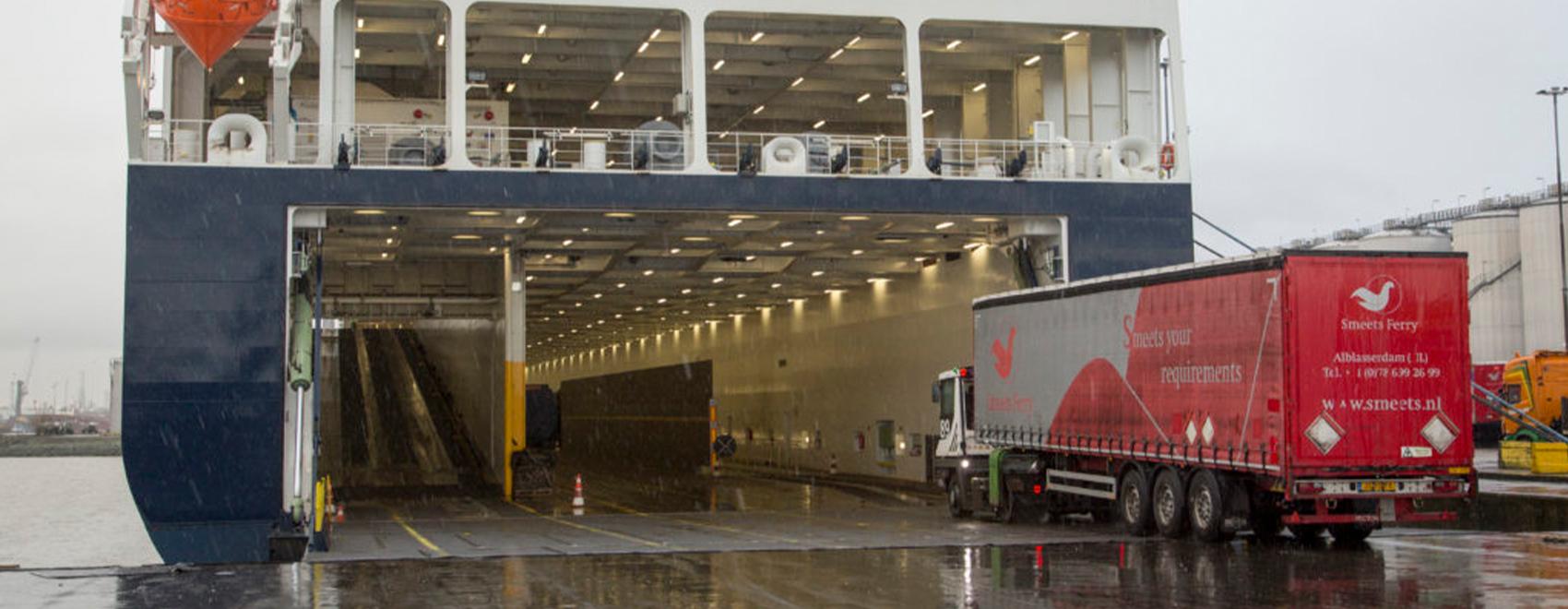 Smeets Ferry bespaart tonnen